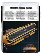 1967 Camaro Ss Duvet Cover