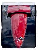 1967 Chevrolet Corvette Hood Emblem 5 Duvet Cover
