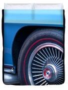1967 Chevrolet Corvette Wheel 2 Duvet Cover