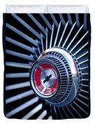 1967 Chevrolet Corvette Wheel Duvet Cover