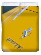 1967 Ferrari 275 Gtb4 Emblem 3 Duvet Cover