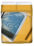 1967 Ferrari 275 Gtb4 Steering Wheel Duvet Cover