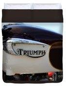 1967 Triumph Bonneville Gas Tank 1 Duvet Cover