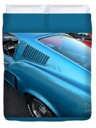 1968 Ford Mustang Fastback  Profile Duvet Cover