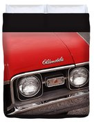 1968 Oldsmobile Cutlass Supreme Duvet Cover