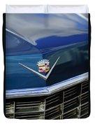 1969 Cadillac Hood Emblem Duvet Cover
