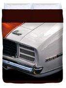 1969 Chevrolet Camaro Indianapolis 500 Pace Car Duvet Cover by Gordon Dean II