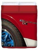 1969 Sc Rambler Wheel Emblem Duvet Cover