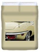 1970 Jaguar Xk Type-e Taillight 2 Duvet Cover
