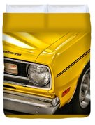 1970 Plymouth Duster 340 Duvet Cover