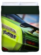 1971 Plymouth Duster Twister Duvet Cover