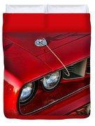 1971 Plymouth Hemi 'cuda Duvet Cover by Gordon Dean II
