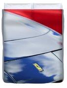 1972 Ferrari 365 Gtb 6c Emblem  Duvet Cover