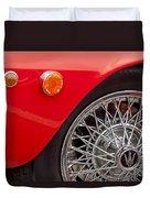 1972 Maserati Ghibli 4.9 Ss Spyder Wheel Duvet Cover
