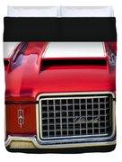 1972 Oldsmobile Grille Duvet Cover