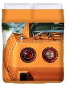 1977 Chevrolet Corvette Duvet Cover