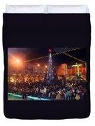 1st International Christmas Festival Duvet Cover
