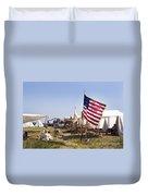 1st New York Artillery Duvet Cover