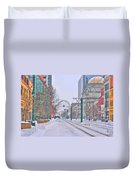 1st Real Snow Golddome 2012 Duvet Cover