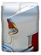 1955 Chevrolet 210 Taillight Duvet Cover