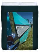 1957 Chevy Convertable Duvet Cover