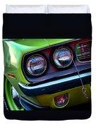 1971 Plymouth Hemicuda Duvet Cover