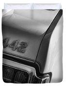 1972 Oldsmobile Cutlass 442 Duvet Cover
