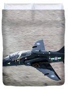 A Hawk Jet Trainer Aircraft Duvet Cover