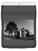 Abandoned House Duvet Cover by Cale Best