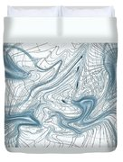 Abstract Pattern Art Duvet Cover