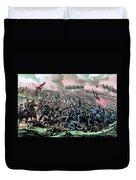 American Civil War, Battle Duvet Cover