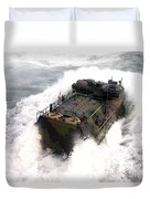An Amphibious Assault Vehicle Duvet Cover
