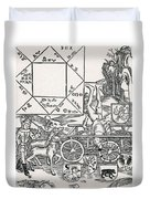 Astrology Duvet Cover by Science Source