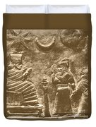 Babylonian Boundary Stone Duvet Cover by Science Source