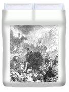 Balkan Insurgency, 1876 Duvet Cover