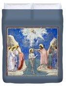 Baptism Of Christ Duvet Cover