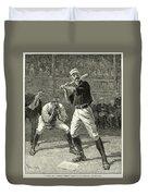 Baseball, 1888 Duvet Cover