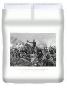 Battle Of Spotsylvania Duvet Cover
