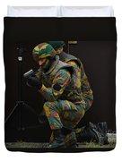 Belgian Paracommandos Entering Duvet Cover