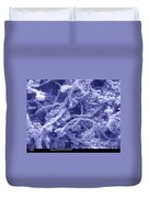 Blue Cheese Duvet Cover