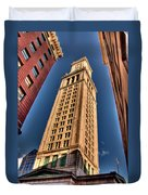 Boston Custom House Duvet Cover