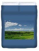 Bridger Mountain View Duvet Cover