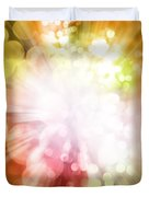 Bright Background Duvet Cover