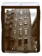 Brooklyn New York - 126 Front Street Duvet Cover