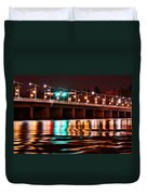Champlain Bridge Duvet Cover