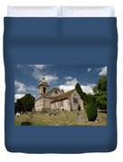 Church Of St. Lawrence West Wycombe  Duvet Cover