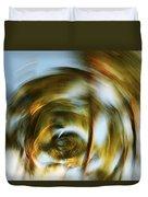 Circular Palm Blur Duvet Cover