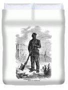 Civil War: Black Troops Duvet Cover
