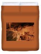 Cliff Palace Mesa Verde National Park Duvet Cover