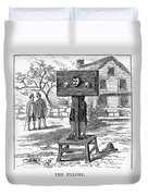 Colonial Pillory - To License For Professional Use Visit Granger.com Duvet Cover